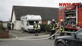 Küchenbrand in Hunteburg