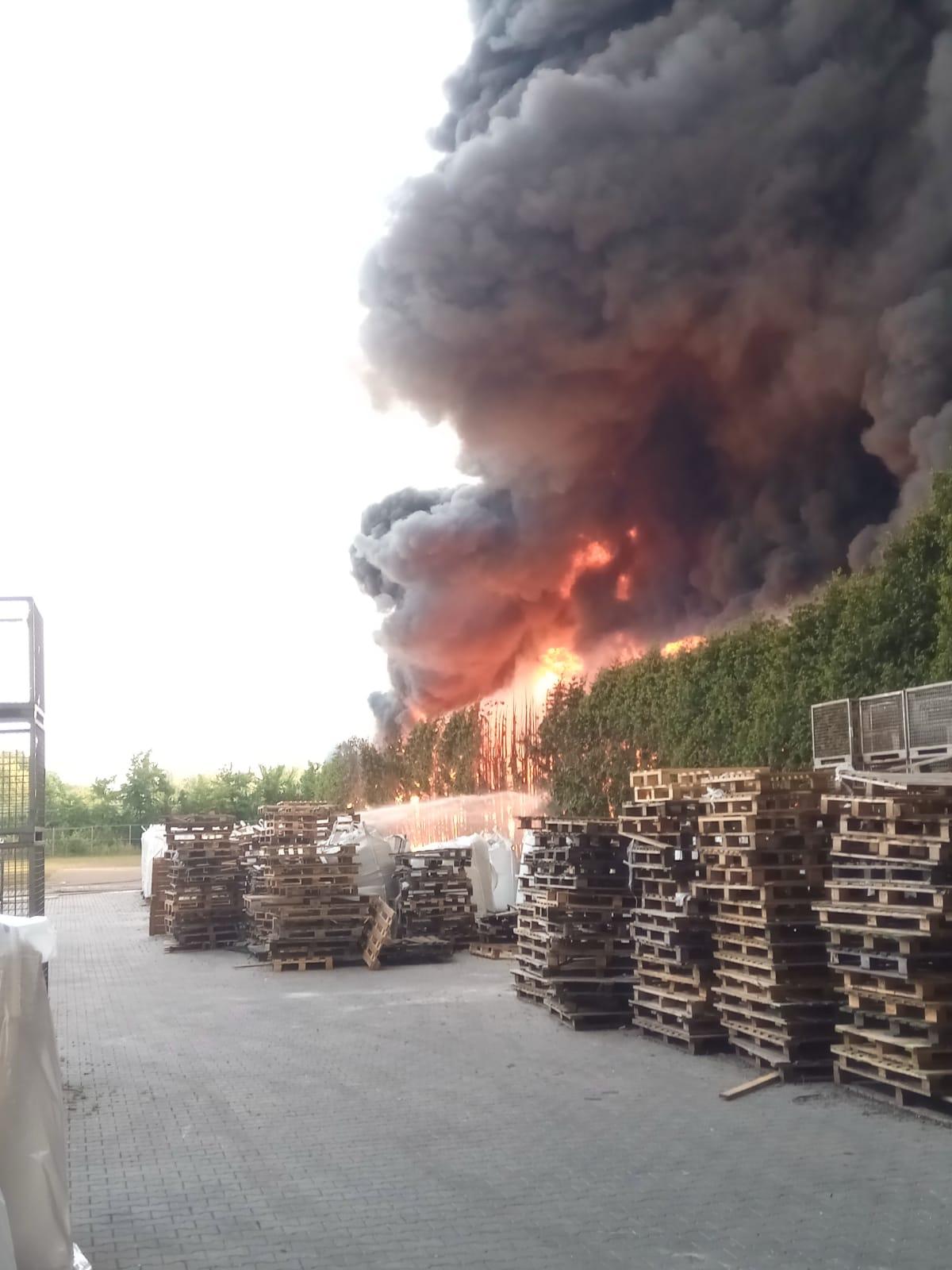 Großbrand in Bohmte